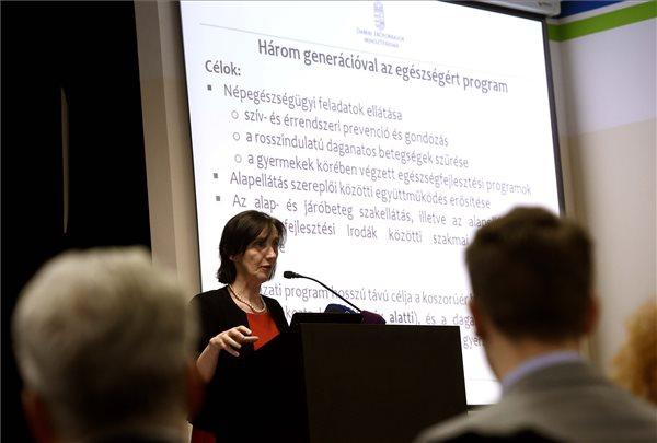 Az egészségfejlesztési programról szóló információs nap Budapesten