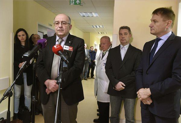 Lélegeztetési centrum kezdte meg működését az Országos Korányi Pulmonológiai Intézetben