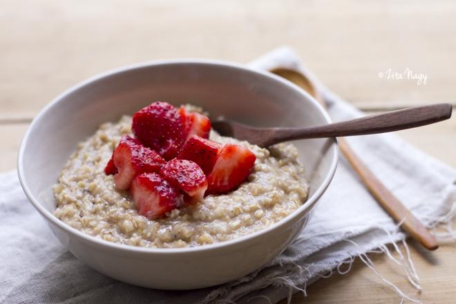 Egészséges receptek - reggeli tápláló zabkása