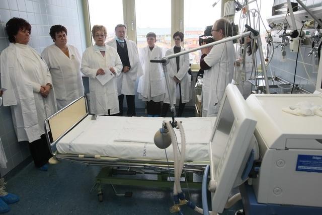 Korszerűsítették a térségi intenzív osztályt Zalaegerszegen