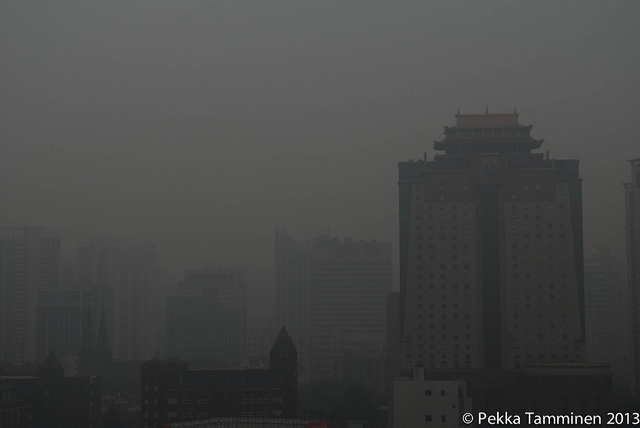 Négyezer kínai halálát okozza naponta a légszennyezés