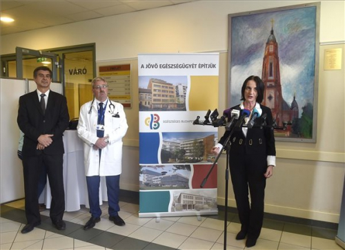 Félmilliárd forint fejlesztési támogatást kapott a Bajcsy-Zsilinszky Kórház